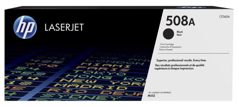 HP 508A tisková kazeta černá, CF360A