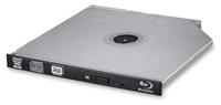 HITACHI LG - interní mechanika BD-W/CD-RW/DVD±R/±RW/RAM/M-DISC BU40N, Slim, 9.5 mm Tray, Black, bulk bez SW