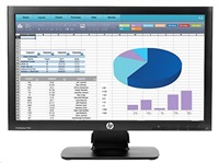 "HP LCD ProDisplay P202 LED 20""wide, (1600x900, 5ms, 1000:1, 3000000:1 dynamic, 250 nits VGA, DP)"