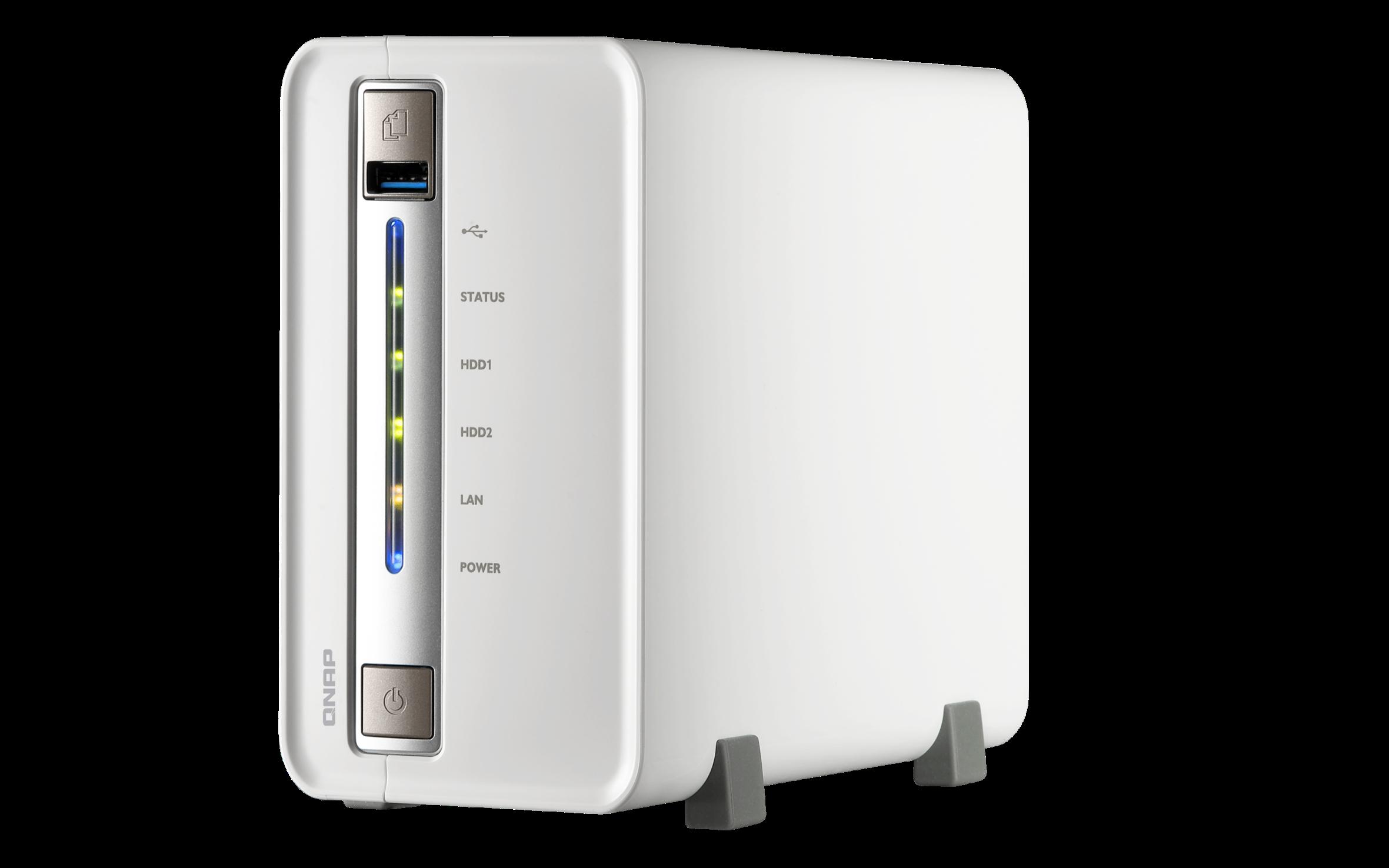 QNAP TS-251C (2,41GHz/1GB RAM/2xSATA)
