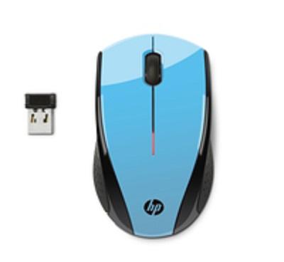 HP myš X3000 bezdrátová modrá