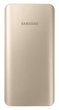 Samsung externí záložní baterie 5200 mAh EB-PA500U, zlatá