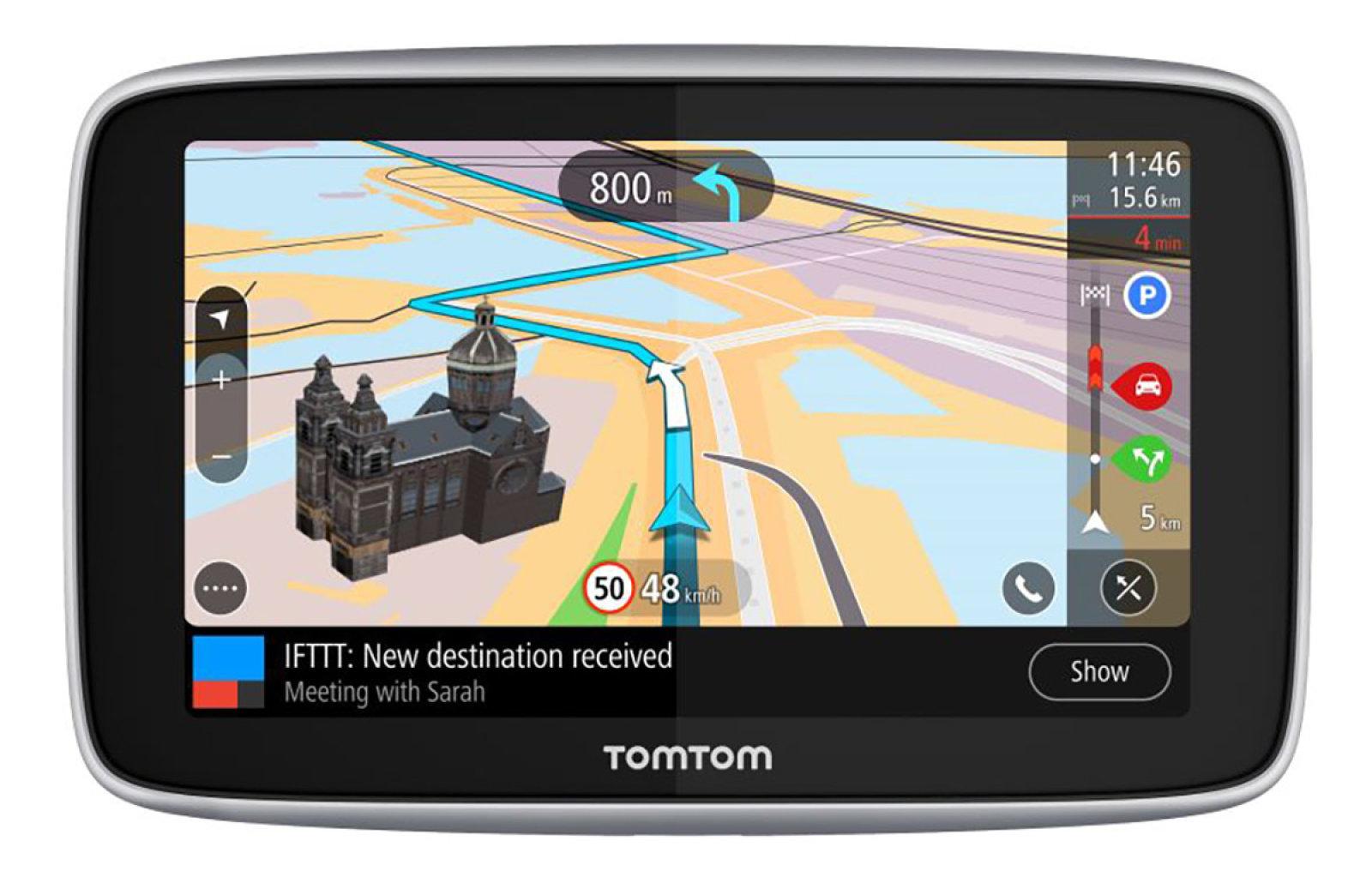 """TomTom GO Premium 5"""" World, Wi-Fi, LIFETIME mapy"""