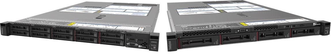 """Lenovo ThinkSystem SR630 1x Silver 4208 8C 2.1GHz 85W/1x16GB/0GB 2,5""""(8)/930-8i(2GB f)/XCC-E/750W"""