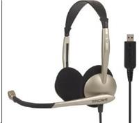 KOSS sluchátka CS100 USB , sluchátka s mikrofonem, bez kódu