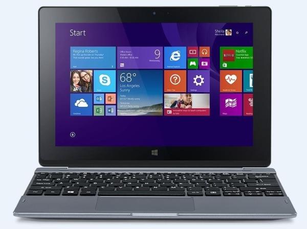 """Acer Iconia One 10 S1003-17WW Atom Z8300/10,1"""" Multi-Touch FHD IPS LED/4GB/eMMC 128GB/W10/Black"""