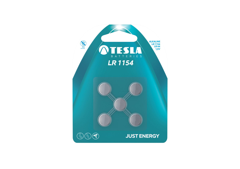 TESLA - baterie TESLA LR 1154, 5ks, LR 1154 LR44