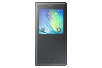 Samsung flipové pouzdro S-view EF-CA700BW pro Samsung Galaxy A7 (A700F), černá