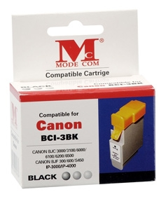 Inkoust Modecom MC-3B pro tiskárny CANON [ Canon BCI3EBK ]