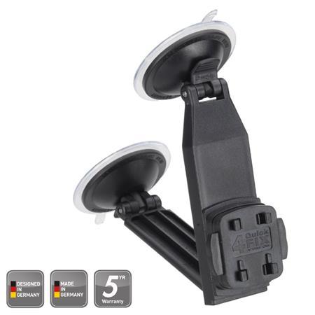 HR Grip uchycovací systém pro držák mobilního telefonu Suction Mount 2 + 4QuickFIX / rychloupínací systém / přísavka