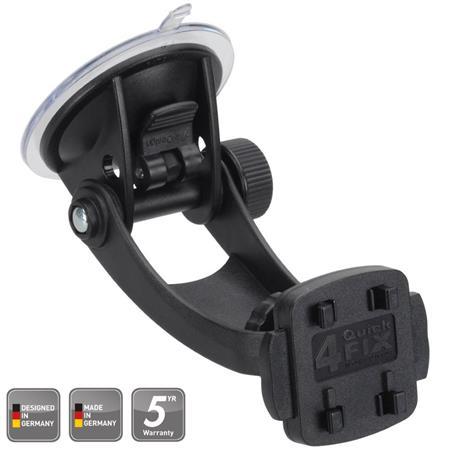 HR Grip uchycovací systém pro držák mobilního telefonu Compact Suction Mount 1 + 4QuickFIX / rychloupínací / přísavka