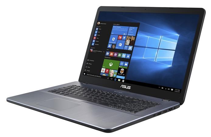 """ASUS X705UA-BX840T Pentium 4417U/4GB/256GB SSD/17,3"""" HD+/Win10/šedý"""