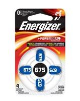 ENERGIZER BATERIE PRO AUDIOPROTETIKU (NEDOSLÝCHAVÉ) 675SP-4 BL4