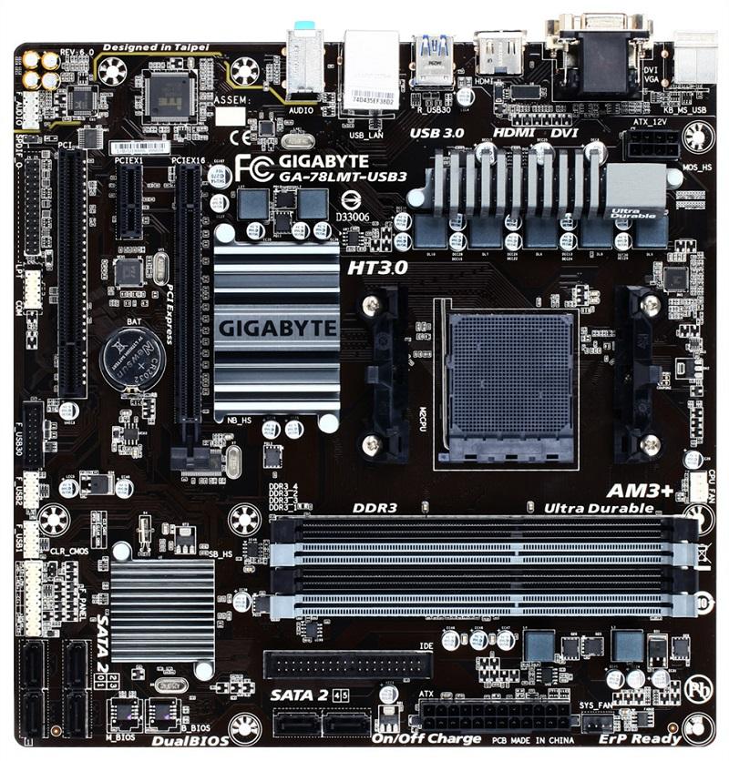 GIGABYTE 78LMT-USB3 (rev. 6.0)