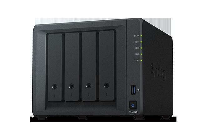 Synology DiskStation DS918+ + rozšířená záruka 5 let