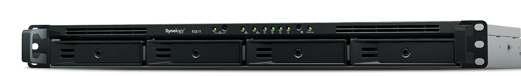 Synology RS819 Rack Station 4x SATA, 2GB DDR4