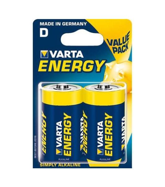 Baterie VARTA HIGH ENERGY D 2ks - LR20 alkalické