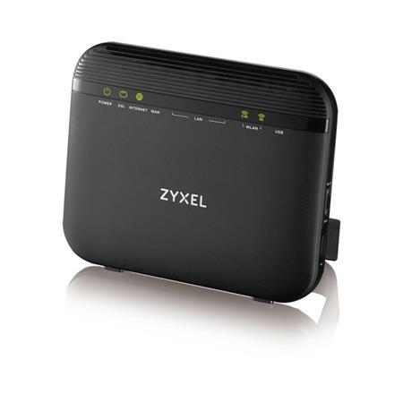 Zyxel VMG3625-T20A, VDSL2 profile 17a over POTS Gateway, GbE WAN, 4GbE LAN, 1 USB 2.0, WiFi 11n 2.4GHz 300Mbps, 5GHz 11a