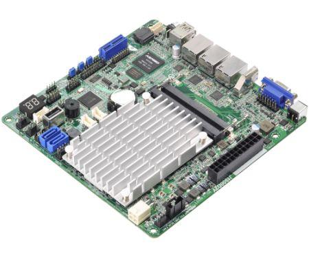 ASRock J1900D2Y, s.1900, SoC, 2xDDR3/DDR3L, 2xSATA2 3.0Gb/s, RAID,USB 2.0, USB 3.0, ( D-Sub, HDMI), mITX