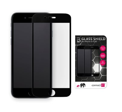 CONNECT IT glass shield pro iphone 6 PLUS, černý
