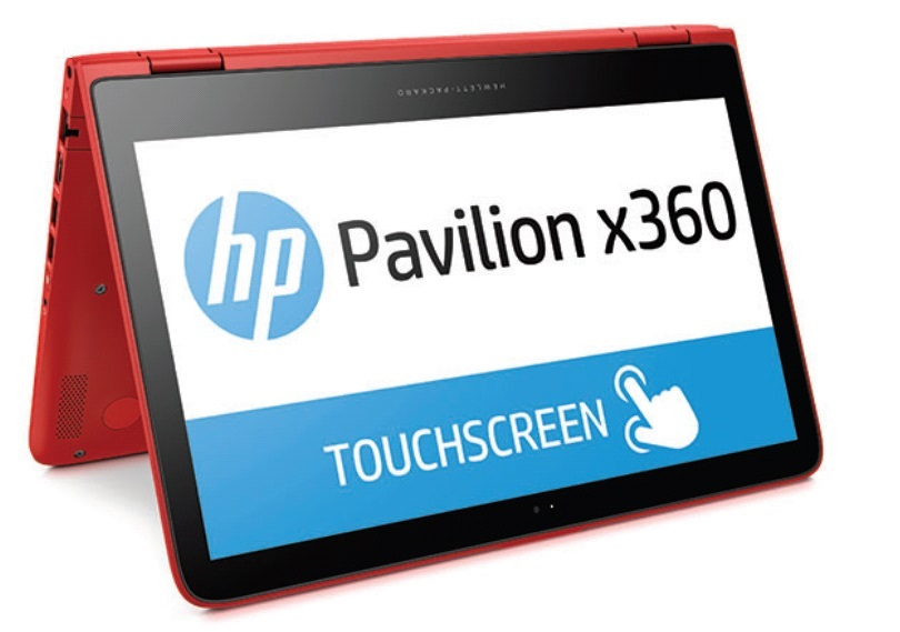 "HP NTB TouchSmart Pavilion x360 13-s008nc,13,3"" FHD AG LED,Intel Core i5-5200U,8GB DDR3,500GB+8GB SSD,UMA,Win8.1-red"