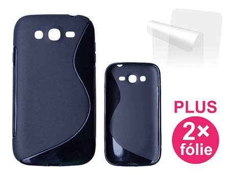CONNECT IT S-COVER pro Samsung Galaxy Neo Plus Duos (GT-I9060I) ČERNÉ