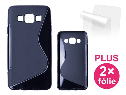 CONNECT IT S-COVER pro Samsung Galaxy A3 (SM A300F) ČERNÉ