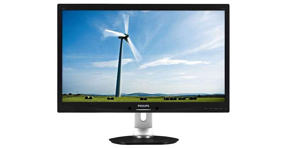 """Philips LCD 271S4LPYEB/00 27"""" wide TN/1920x1080/20M:1/5ms/250 cd/VGA/DVI-D/DP/VESA"""