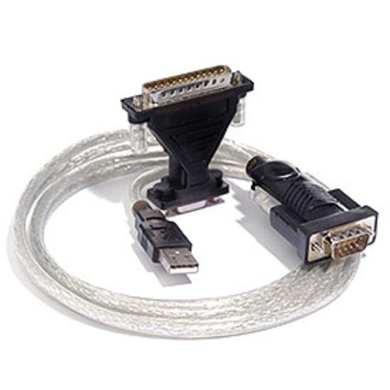 PremiumCord USB 2.0 - RS 232 převodník s kabelem