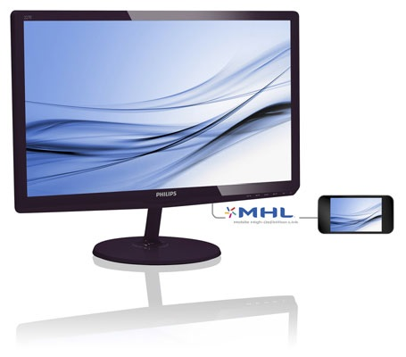 "Philips LCD 227E6EDSD 21,5""wide IPS LED/1920x1080/20mil:1/5ms/VGA/DVI/HDMI"