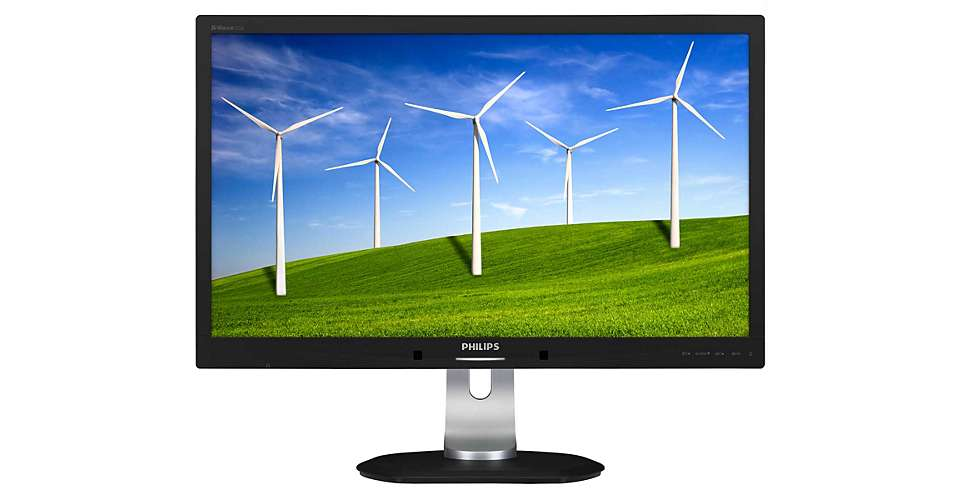 "Philips 272B4QPJCB/00 27"" IPS LED 2560x1440 20 000 000:1 5ms 350cd DP HDMI DVI pivot repro cierny"