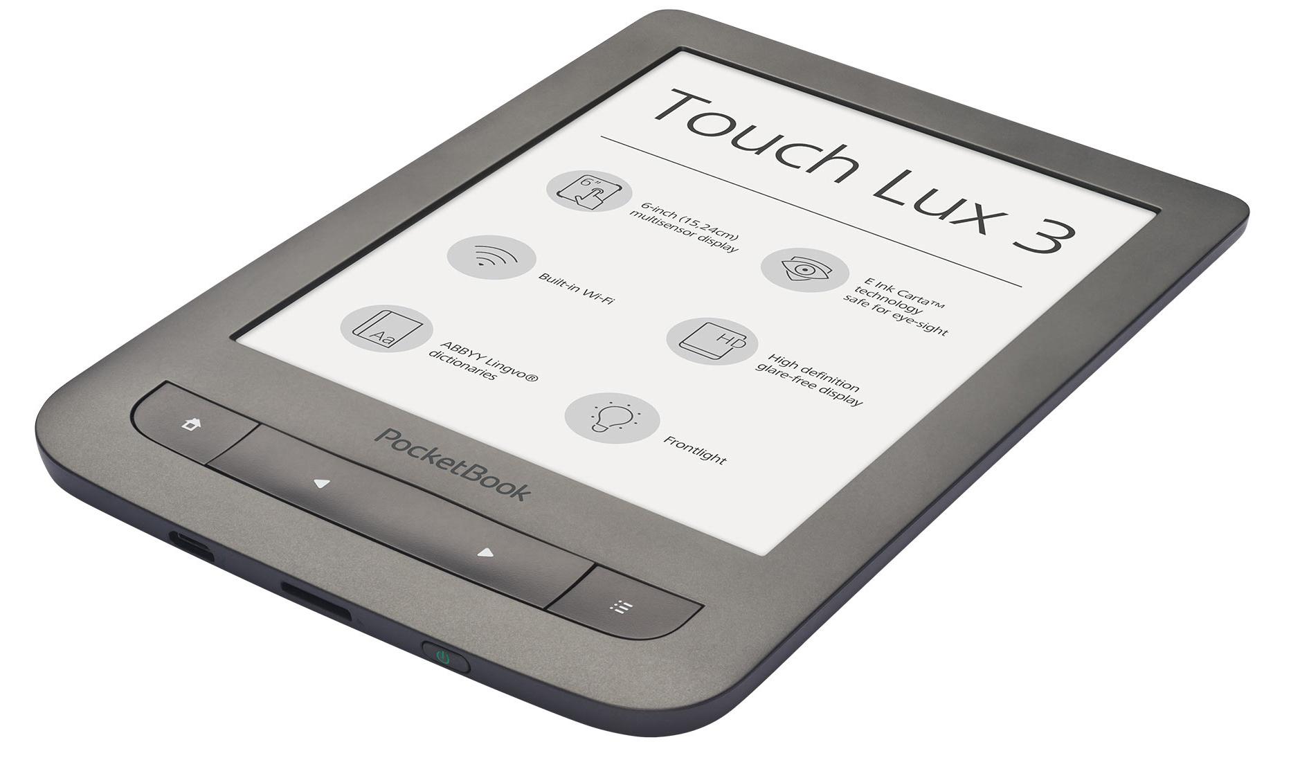 Pocketbook 626 Touch Lux 3, Carta e-ink, bílý