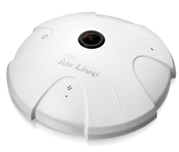 AirLive FE-201DM,FiE.Dome,2M,ID,f1.25mm,PoE/DC,WDR