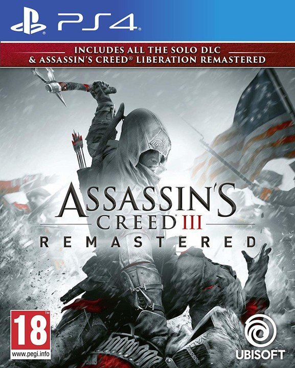 PS4 - Assassins Creed 3 + Liberation Remastered HD