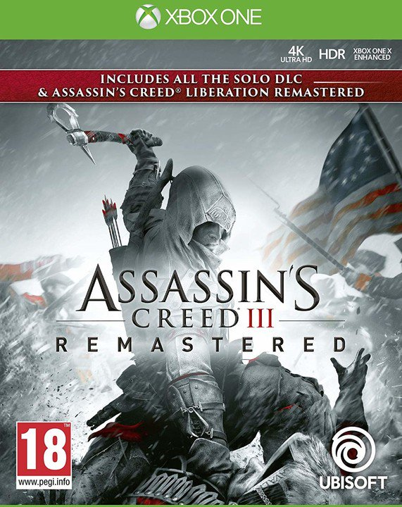 XONE - Assassins Creed 3 + Liberation Remastered