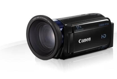 Canon LEGRIA HF R68 + šir.předsádka WA-H43 (0,7x)