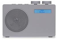 AKAI ADB10GY Přenosné DAB rádio s FM tunerem, šedé