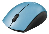 TRUST Myš Ovi Wireless Micro Mouse USB, modrá, bezdrátová