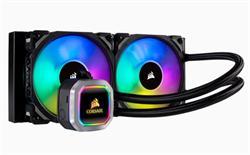 Corsair vodní chlazení Hydro Series, H100i RGB PLATINUM,2 ventilátory 240mm ML Series