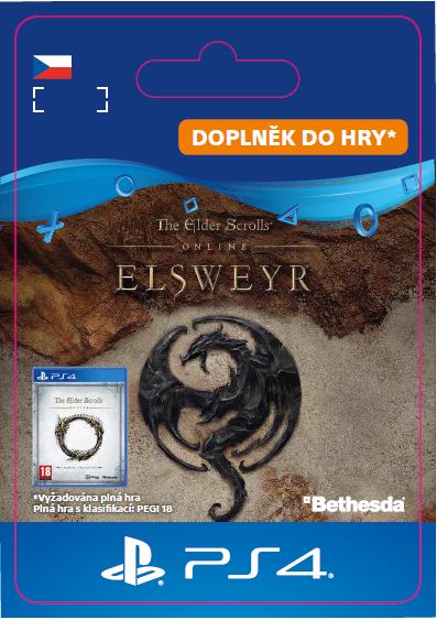 ESD CZ PS4 - The Elder Scrolls Online: Elsweyr Upgrade