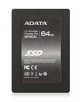 "BAZAR Vadný ADATA SSD 64GB Premier Pro SP600 2,5"" SATA III 6Gb/s 7mm - VADNY"