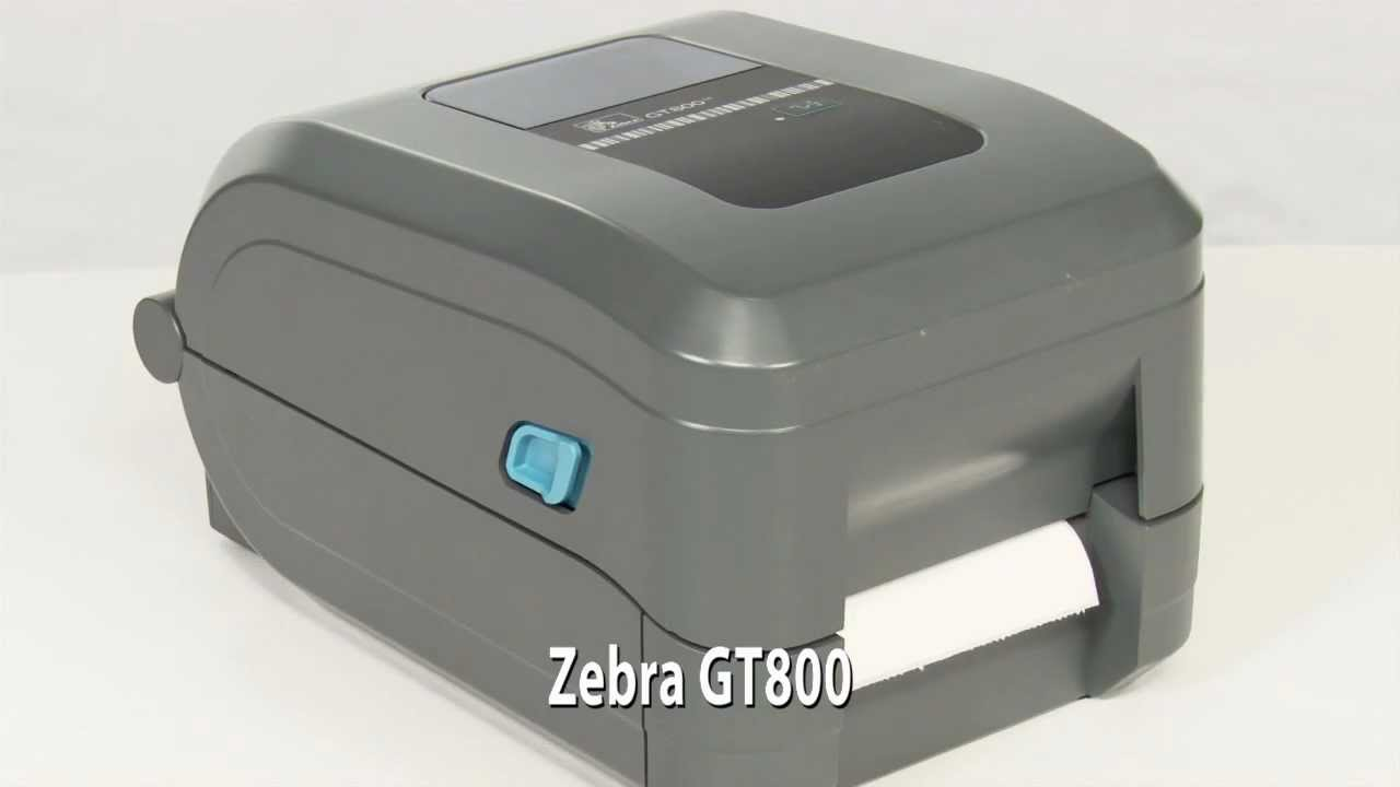 ZEBRA GT800 TT tiskárna štítků, 203dpi, USB,RS232, čidlo konce etikety