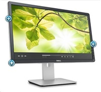 """Dell MT IPS LCD LED P2214H - 21,5"""", IPS panel, 250cd, 1920x1080, D-Sub, DVI-D, DP, USB, pivot, rozbalen"""