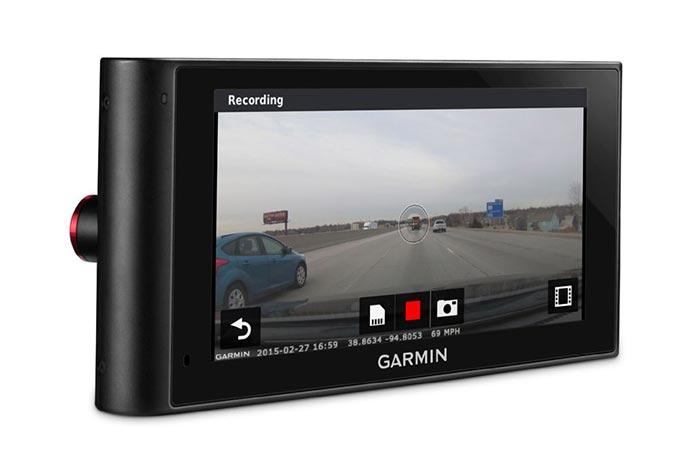 Garmin GPS navigace nuviCam Lifetime Europe45 s vestavěnou čelní kamerou