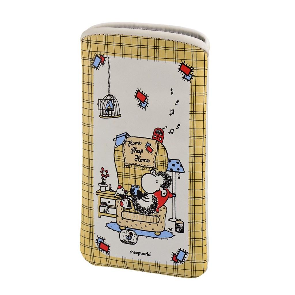 Sheepworld Home Sheep Home, pouzdro na mobil, velikost L