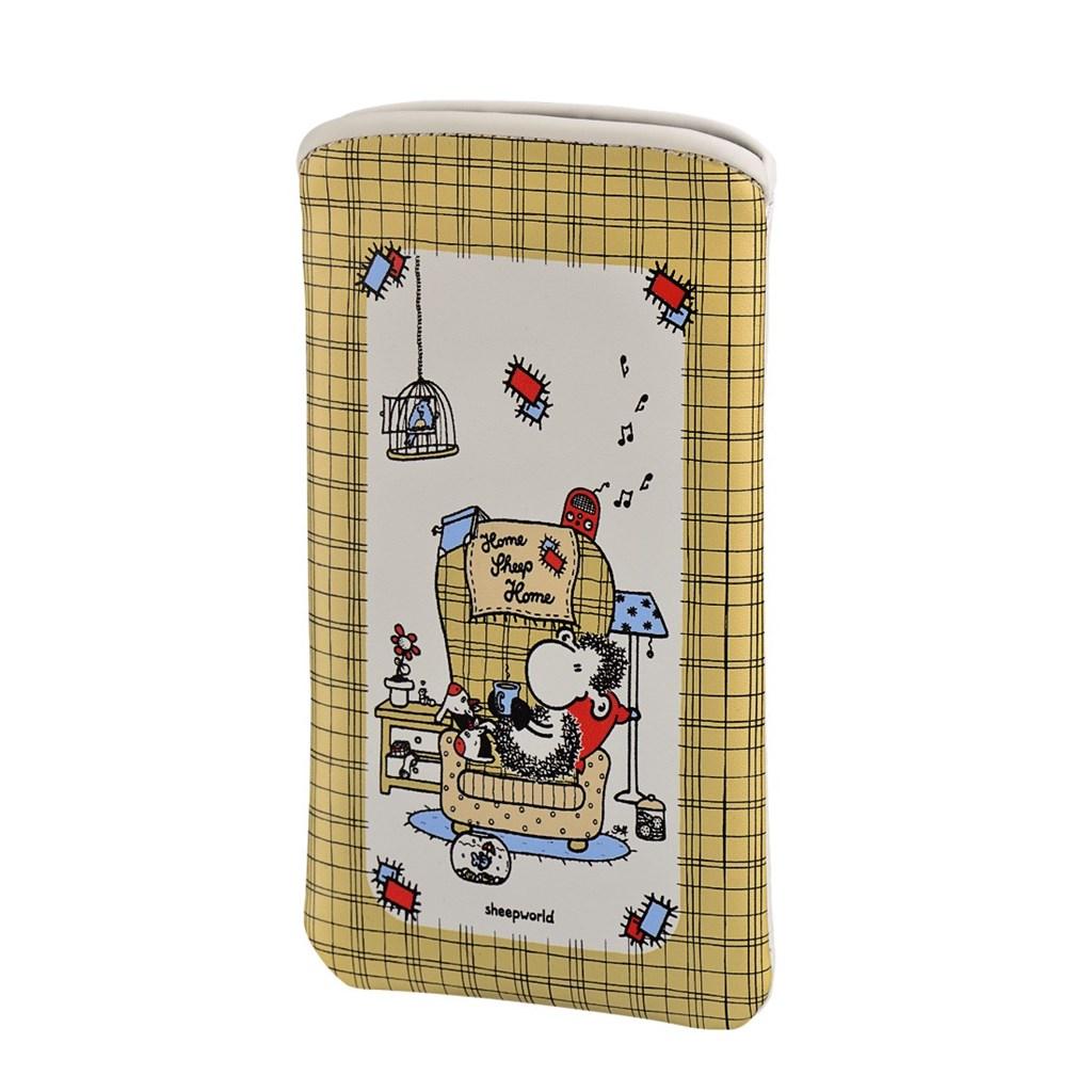 Sheepworld Home Sheep Home, pouzdro na mobil, velikost XL