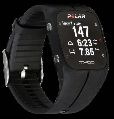 Sporttester Polar M400 HR černý