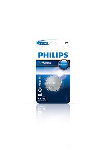 Philips baterie CR1632 - 1ks