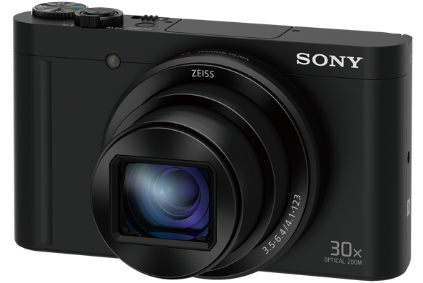 "SONY DSC-WX500 18,2 MP, 30x zoom, 3 "" LCD - BLACK"