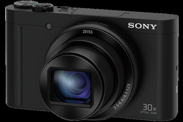 """SONY DSC-WX500 18,2 MP, 30x zoom, 3 """" LCD - BLACK"""